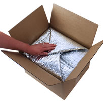 Thermal carton liners - thermal bags for cold chain packaging