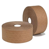 Water Activated Tape great for tamper proofing and environmentally friendly